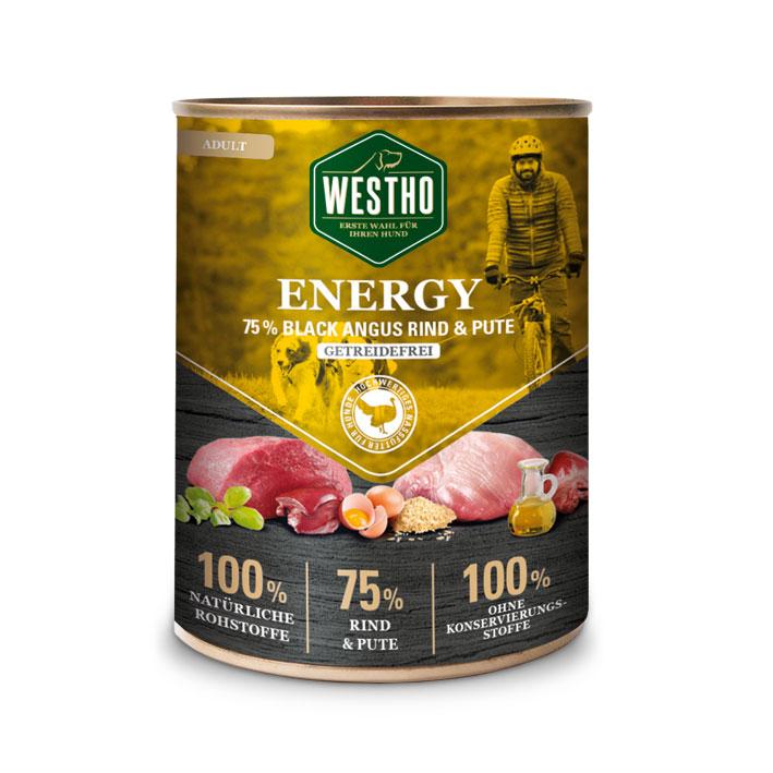 Energy 800g (mit 75 % Black Angus Rind & Pute)