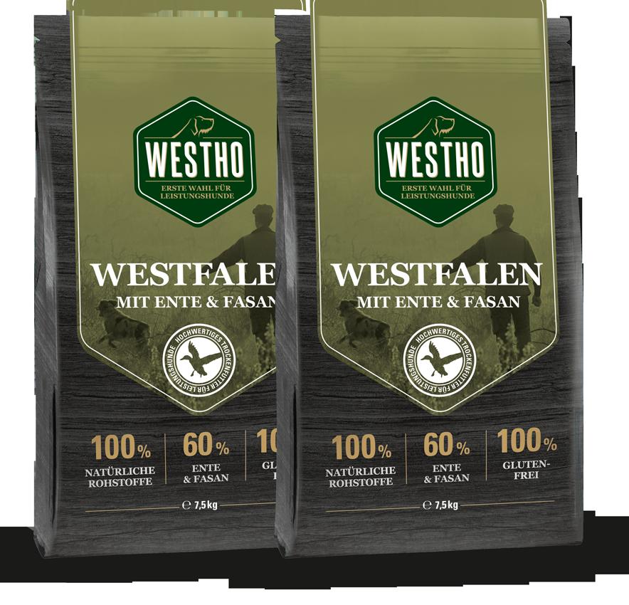 Sparpaket Westfalen 15 kg (mit 60 % Ente & Fasan)