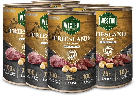 Friesland 400g (mit 75 % Weidelamm) - 6er Pack