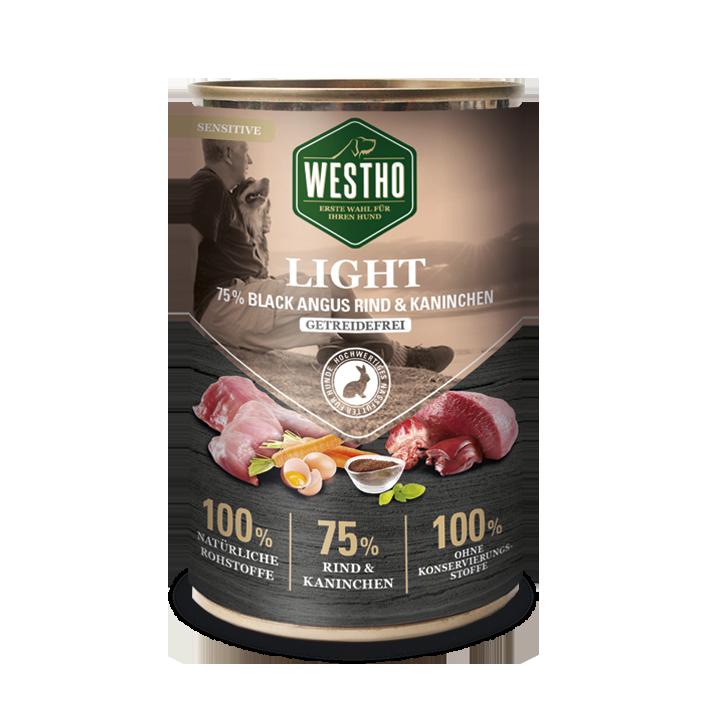 Light 400g (mit 75 % Black Angus Rind & Kaninchen)