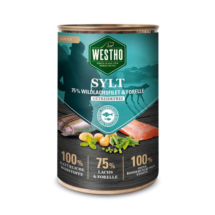 Sylt 400g (mit 75 % Wildlachs & Forelle)