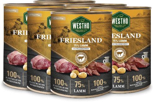 Friesland 800g (mit 75 % Weidelamm) - 6er Pack