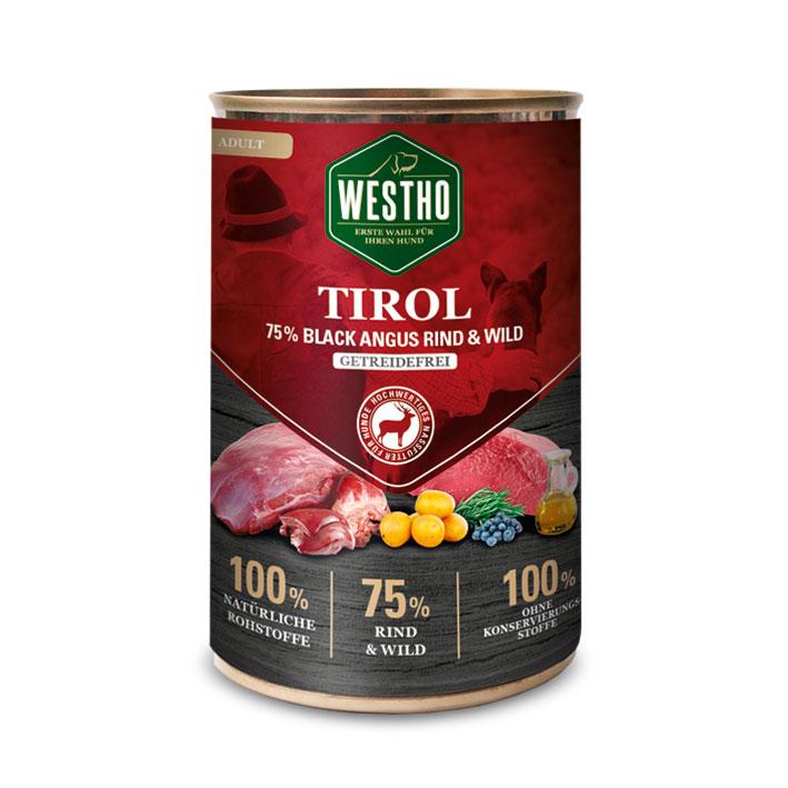 Tirol 400g (mit 75 % Black Angus Rind & Wild)