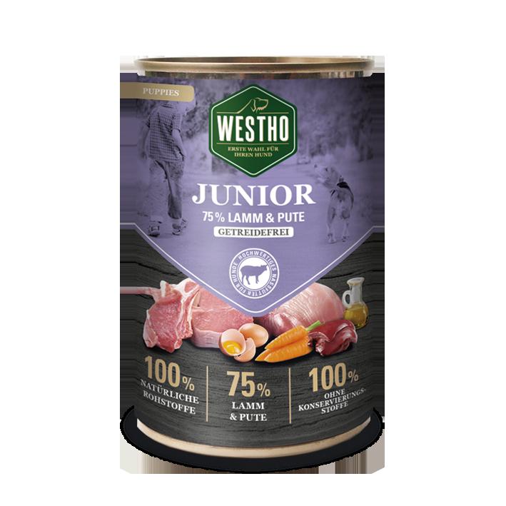 Junior 400g (mit 75 % Weidelamm & Pute)