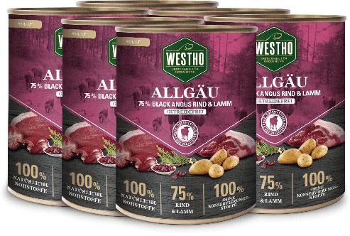 Allgäu 800g (mit 75 % Black Angus Rind & Weidelamm) - 6er Pack