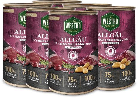 Allgäu 400g (mit 75 % Black Angus Rind & Weidelamm) - 6er Pack